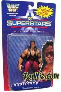 WWF Superstars Wrestling Action Figure Bret