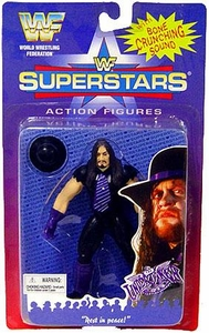 WWF Superstars Wrestling Action Figure Undertaker