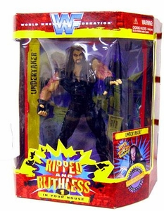 WWF Ripped and Ruthless Series 1 Action Figure The Undertaker