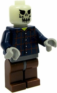 LEGO Zombie LOOSE Custom Mini Figure Advanced Decomposition Zombie Glow-in-the-Dark Head!