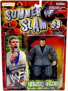 WWF Wrestling Action Figure Summer Slam '99 Superstars Series 9 Vince McMahon