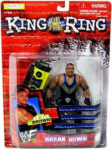 Jakks Pacific WWF King of the Ring 1999 Breakdown in Your House Action Figure D'lo Brown
