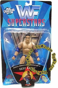 WWF Superstars Series 5 Wrestling Action Figure Rocky Maivia