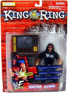 Jakks Pacific WWF King of the Ring 1999 Breakdown in Your House Action Figure X-Pac