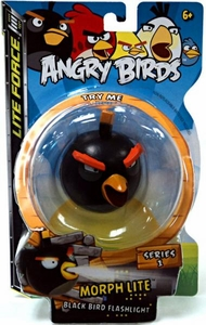 Angry Birds Morph Lite Black Bird Flashlight