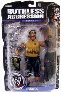 WWE Wrestling Ruthless Aggression Series 36 Action Figure Umaga
