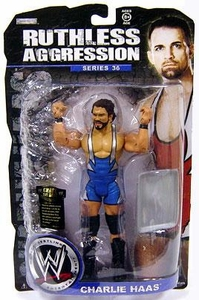 WWE Wrestling Ruthless Aggression Series 36 Action Figure Charlie Haas