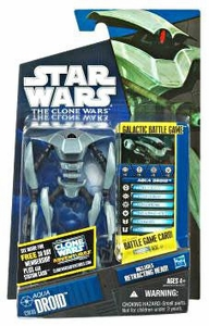 Star Wars 2011 Clone Wars Action Figure CW No. 46 Aqua Battle Droid