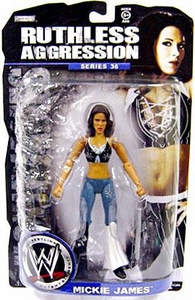 WWE Wrestling Ruthless Aggression Series 36 Action Figure Mickie James