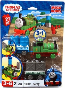 Thomas & Friends Mega Bloks Set #10602 Percy & Wagon
