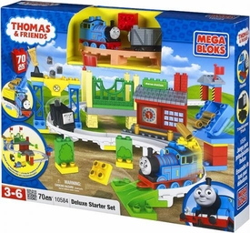 Thomas & Friends Mega Bloks Set #10584 Deluxe Starter Set