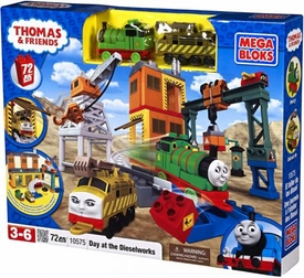 Thomas & Friends Mega Bloks Set #10575 Day at the Dieselworks