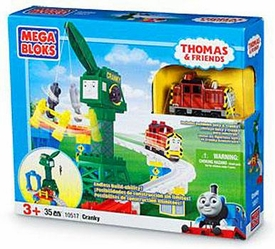 Thomas & Friends Mega Bloks Set #10517 Cranky