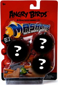 Angry Birds Mash'Ems Series 1 Mystery Mini Figure 3-Pack [3 RANDOM Figures]