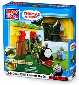 Thomas & Friends Mega Bloks Set #10513 Emily On The Go