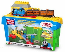 Thomas & Friends Mega Bloks Set #10550 All Aboard at Knapford Station