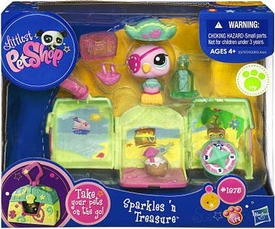 Littlest Pet Shop Pets On the Go Mini Pet Carrier Parrot