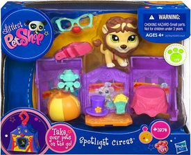 Littlest Pet Shop Pets On the Go Mini Pet Carrier Lion