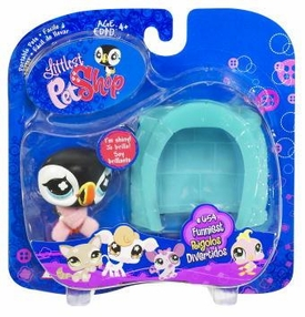 Littlest Pet Shop Pets On the Go Puffin with Igloo
