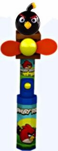 Angry Birds Fan with Candy Black Bird