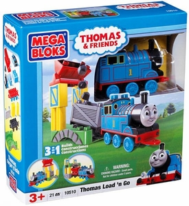 Thomas & Friends Mega Bloks Set #10510 Thomas Load 'n Go