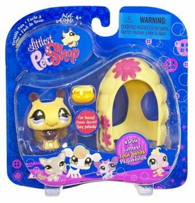 Littlest Pet Shop Pets On the Go Bumblebee with Hive & Honey Bowl