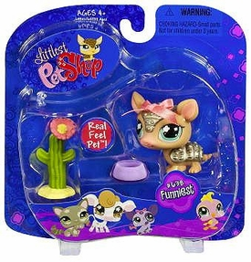 Littlest Pet Shop Pets On the Go Armadillo with Cactus Hard to Find!
