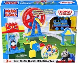 Thomas & Friends Mega Bloks Set #10516 Thomas at the Sodor Fair