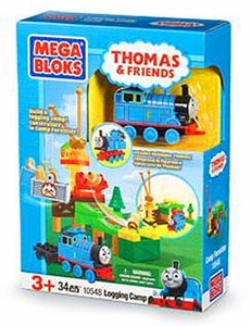 Thomas & Friends Mega Bloks Set #10548 Logging Camp