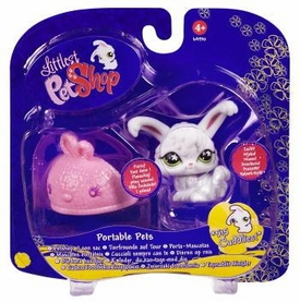 Littlest Pet Shop Portable Pet Angura Bunny with Slipper