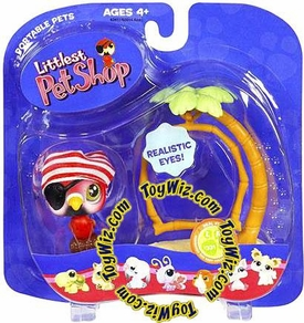 Littlest Pet Shop Pets On the Go Figures Parrot with Swing