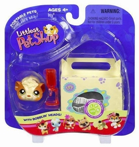 Littlest Pet Shop Pets On the Go Guinea Pig with Carrier