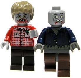 LEGO Zombie LOOSE Custom MiniFigure RANDOM Zombie with Custom Printed Head