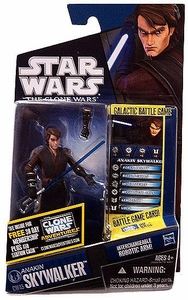 Star Wars 2011 Clone Wars Action Figure CW No. 45 Anakin Skywalker BLOWOUT SALE!