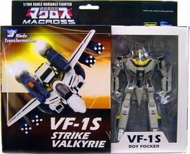 Macross 1/100 Transformable Series 3 Deluxe Roy Focker's VF-1S Strike Valkyrie