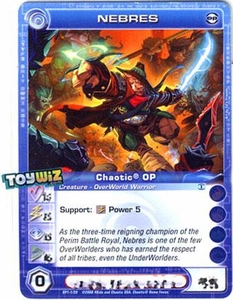 Chaotic Trading Card Game OP Organized Play Promo Single Card Common #OP1-1 Nebres