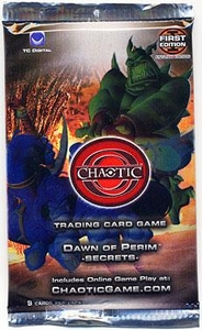 Chaotic Card Game Series 1 Dawn of Perim Secrets Booster Pack