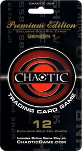 Chaotic Card Game Premium Edition Season 1 Blister Pack [12 Cards]