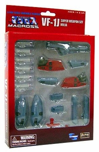Robotech Macross Toynami 1/100 Scale Variable Fighter VF-1J Super Weapon Set Milia