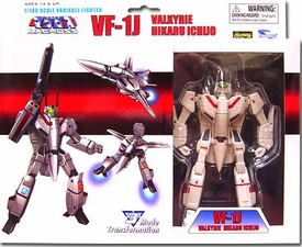 Robotech Macross Toynami 5 Inch 1/100 Scale Fully Transformable Series 2 Veritech Fighter Hikaru Ichijo's VF-1J