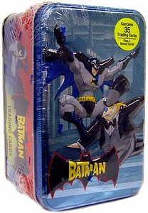 The Batman Topps Animated Card Random Sealed Tin