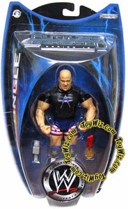 WWE Jakks Pacific Wrestling Action Figure Ruthless Aggression Series 16 Kurt Angle