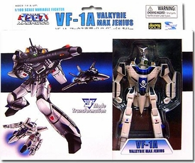 Robotech Macross Toynami 5 Inch 1/100 Scale Fully Transformable Series 1 Veritech Fighter Max Jenius' VF-1A