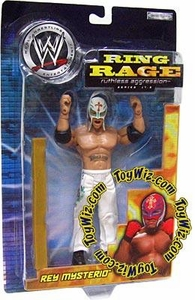 WWE Jakks Pacific Wrestling Action Figure Ruthless Aggression Series 17.5 Rey Mysterio