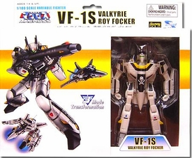 Robotech Macross Toynami 5 Inch 1/100 Scale Fully Transformable Roy Focker's VF-1S Veritech Fighter