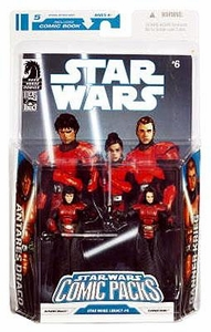 Star Wars 2009 Comic Book Action Figure 2-Pack Dark Horse: Legacy #6 Antares Draco & Ganner Krieg [Imperial Knights]