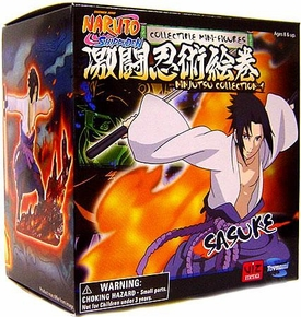 Toynami Naruto Shippuden Ninjutsu Collection 4 Inch Series 1 Figure Sasuke
