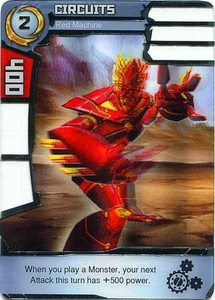 Redakai Gold Pack Single Card Rare #2372 Circuits [Red Machine]