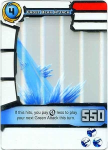 Redakai Gold Pack Single Card Rare #3150 Frost Beam Attack