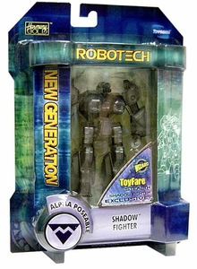 Robotech Exclusive  Toyfare Clear Super Poseable Action Figure Sue Graham Shadow Fighter